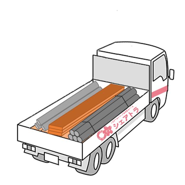トラック荷台幅